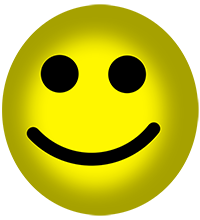 Smiley-face-Yellow